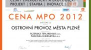 Cena MPO 2012
